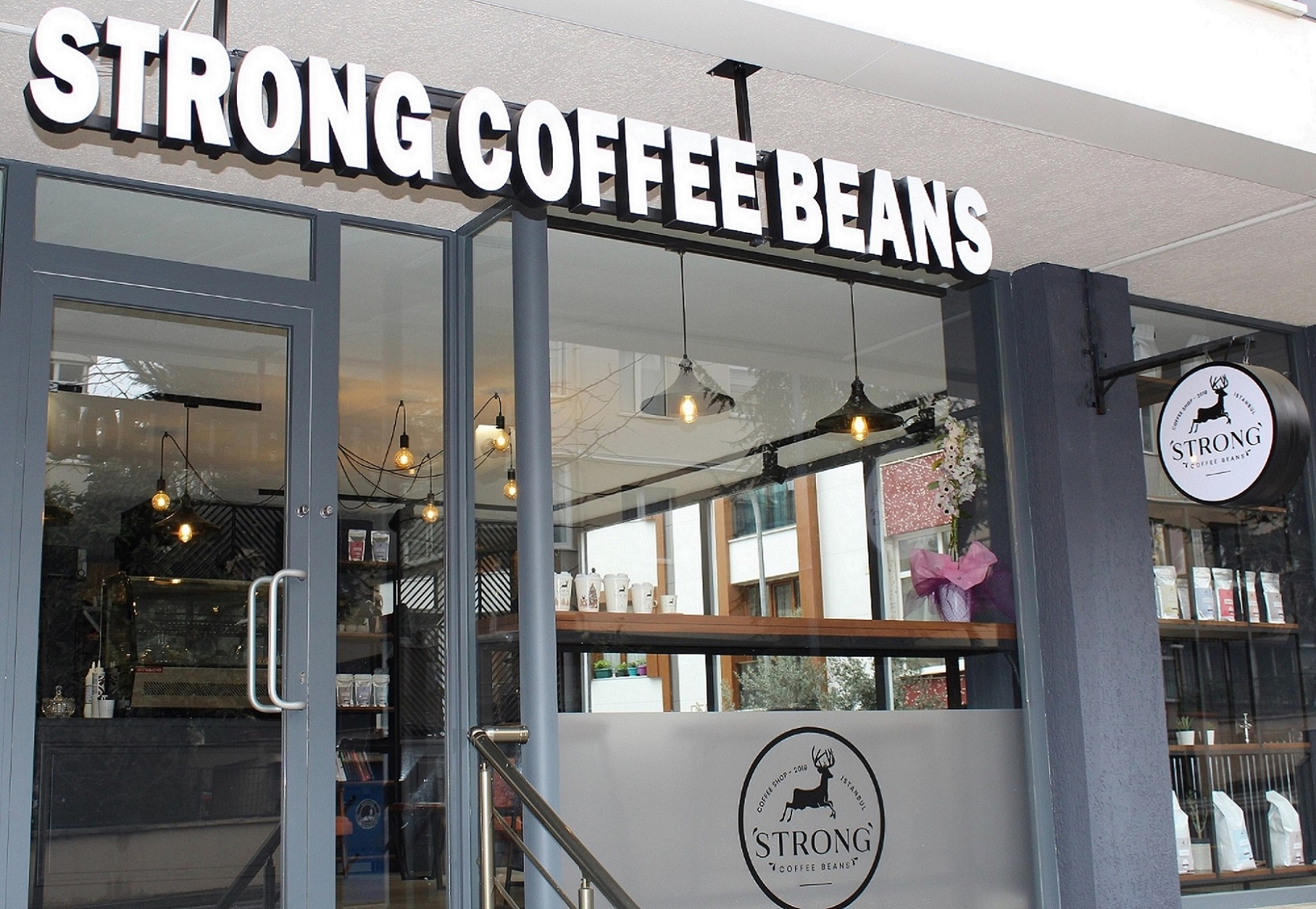 Strong Coffee Beans