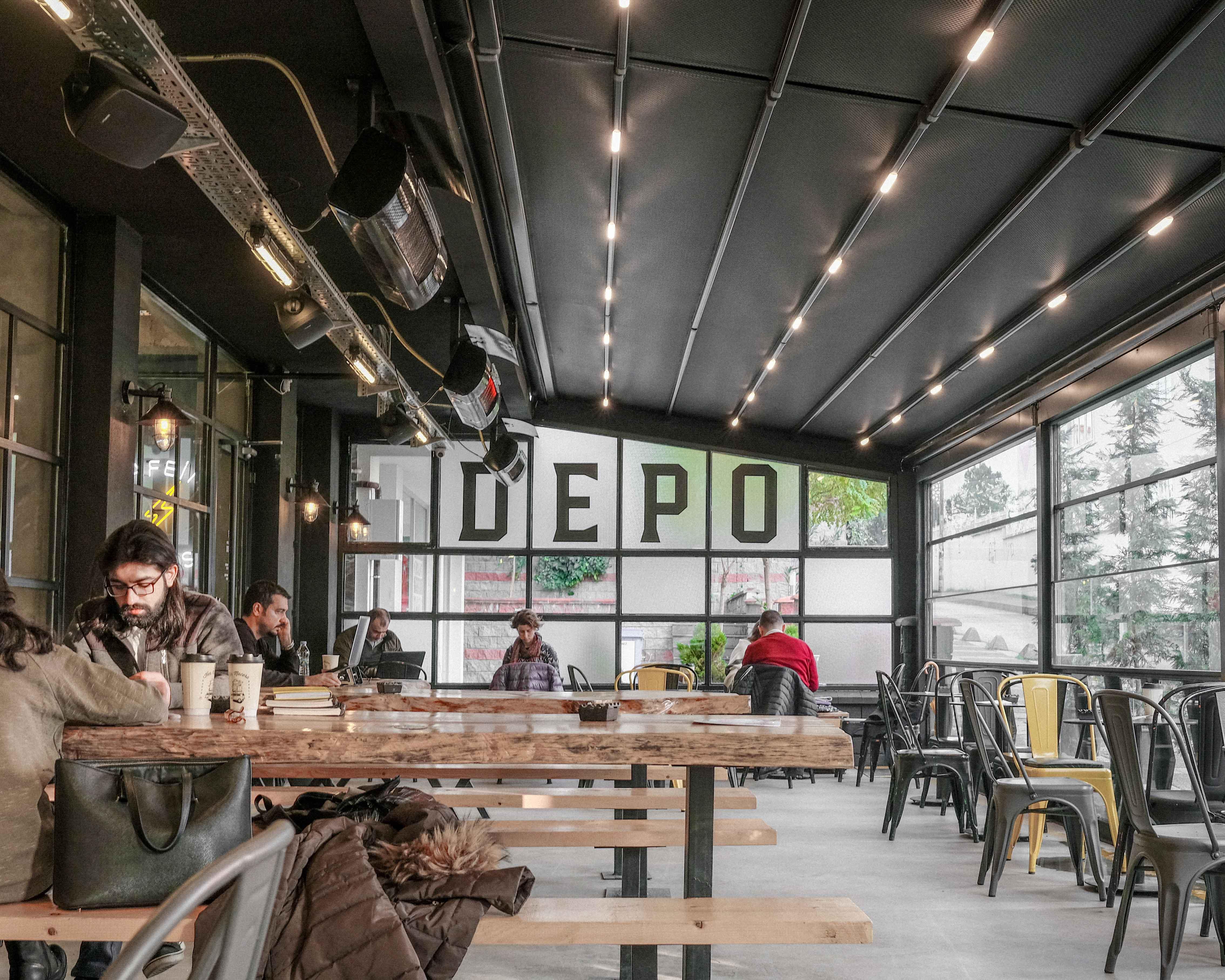 Depo Coffee Roasting (Acıbadem)