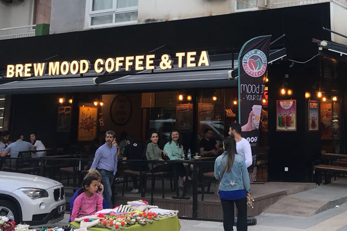 Brew Mood Coffee & Tea Katip Çelebi Üniversitesi Şube
