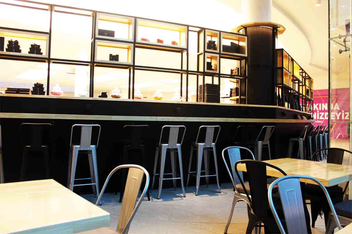 Coffeetainer, Mall of Antalya