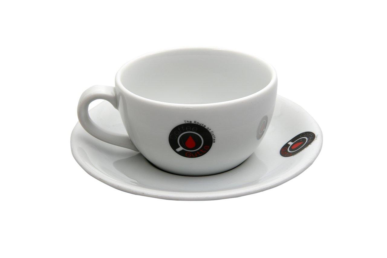 Coffee Gutta - Coffee Gutta Tabaklı Çay Fincanı