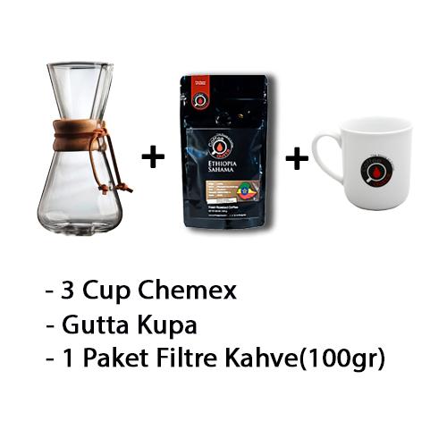 Coffee Gutta - Coffee Gutta Chemex Başlangıç Seti Guatemela Finca El Carmen