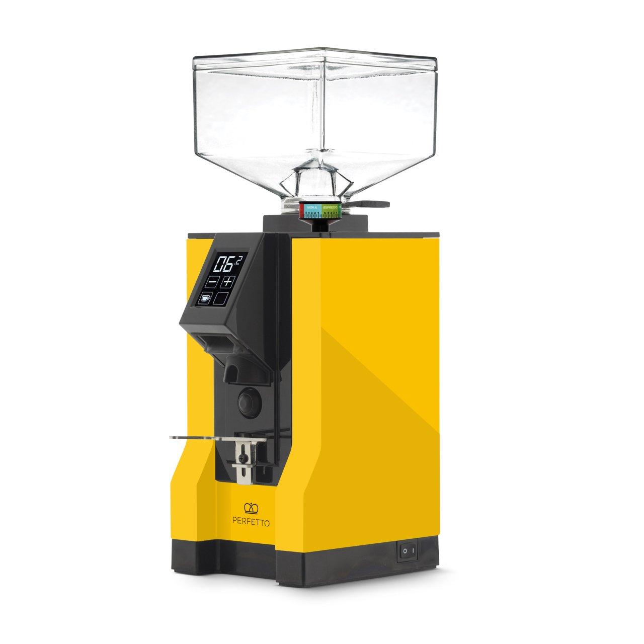 Eureka - Eureka Mignon Perfetto 15BL Kahve Öğütücü Sarı