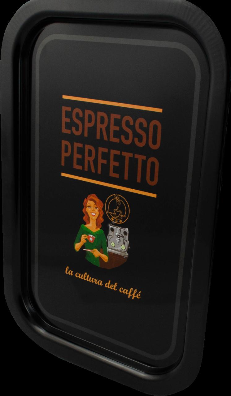 Espresso Perfetto - Espresso Perfetto Coffee Lady Tepsi