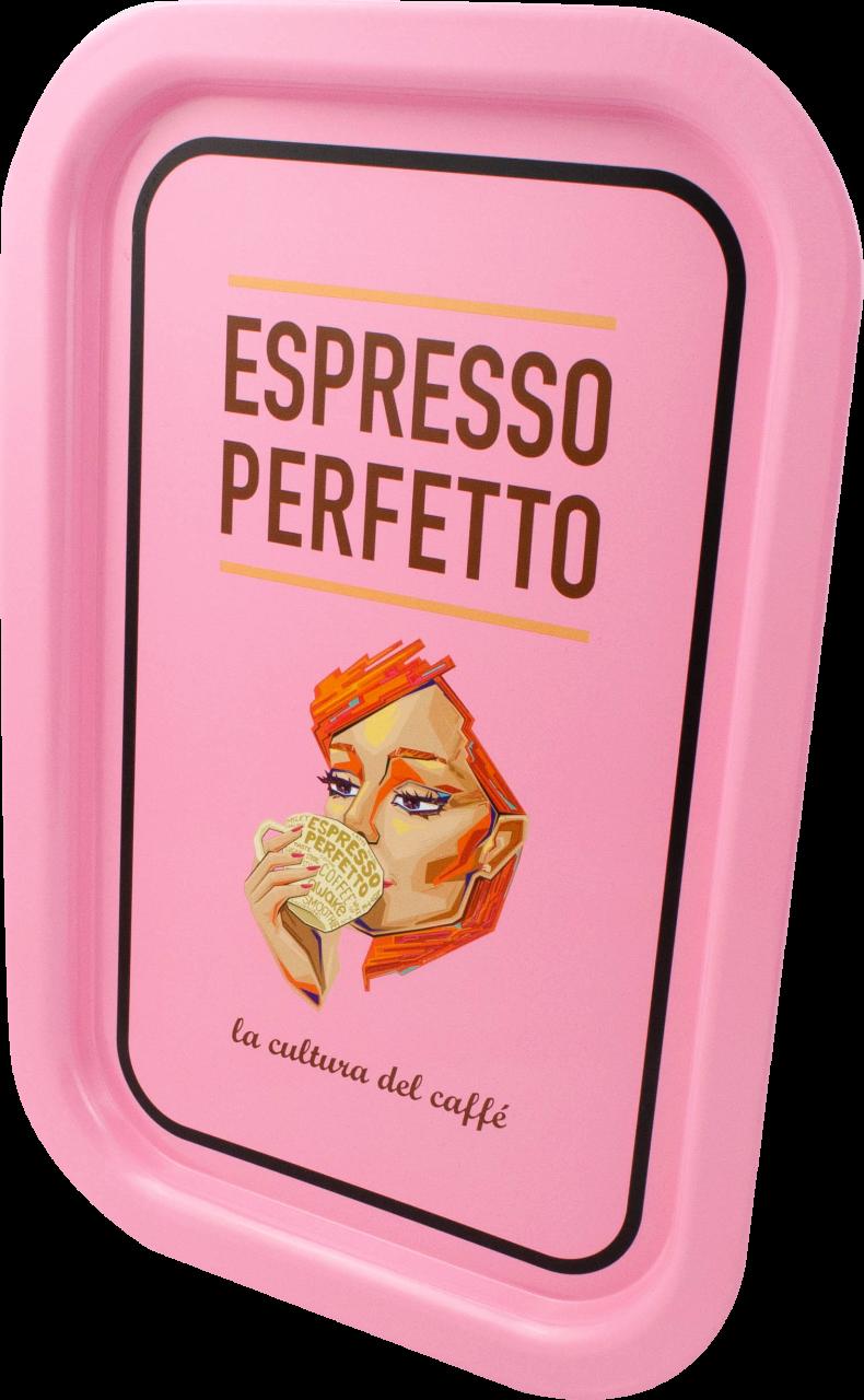 Espresso Perfetto - Espresso Perfetto Pink Lady Tepsi