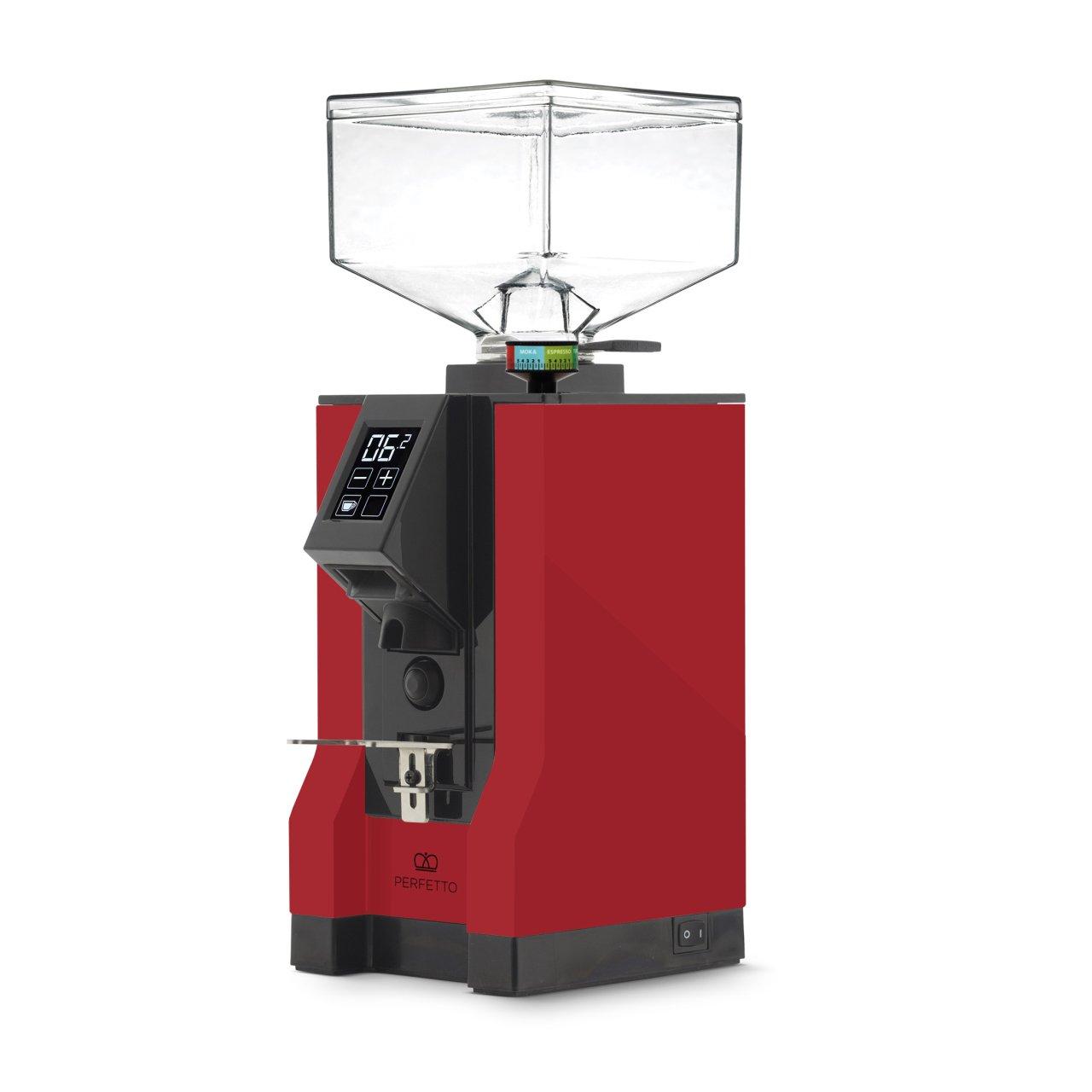 Eureka - Eureka Mignon Perfetto 15BL Kahve Öğütücü Ferrari Red