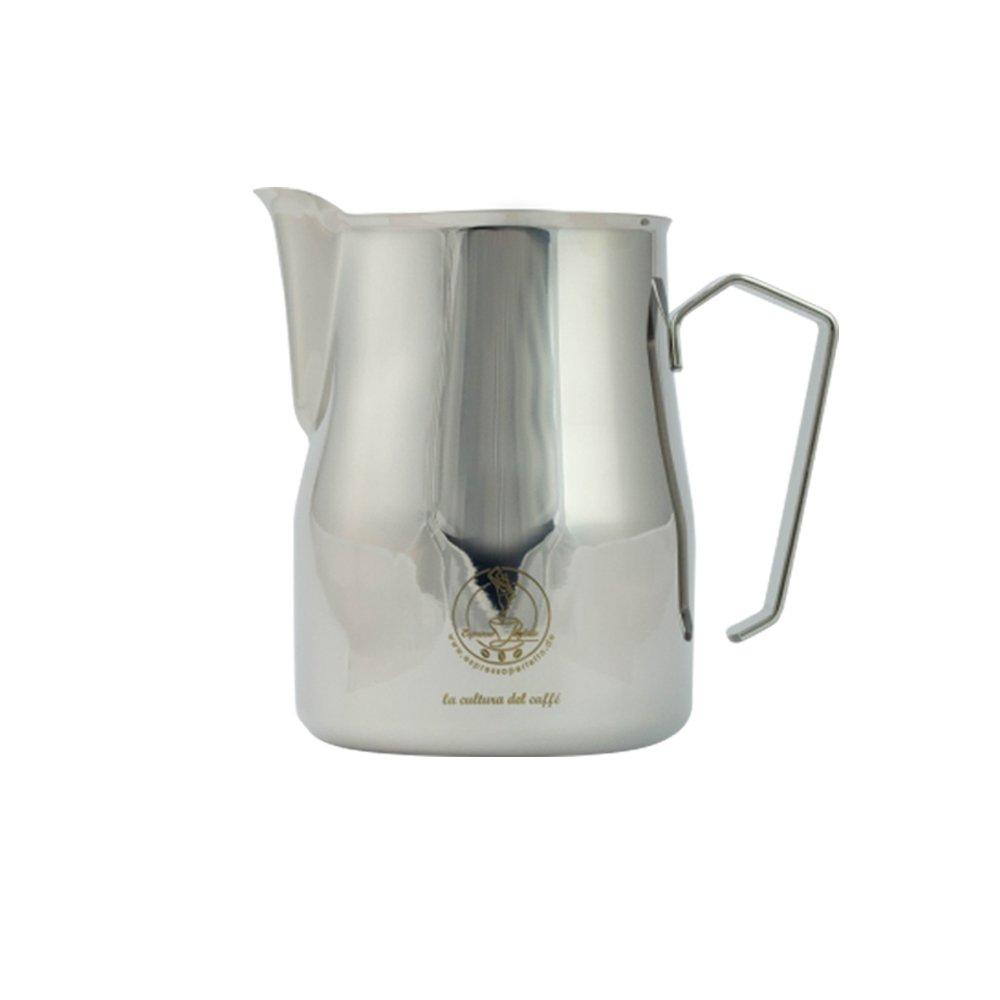 Motta - Motta Espresso Perfetto Logolu Süt Sürahisi Krom 0.75 L