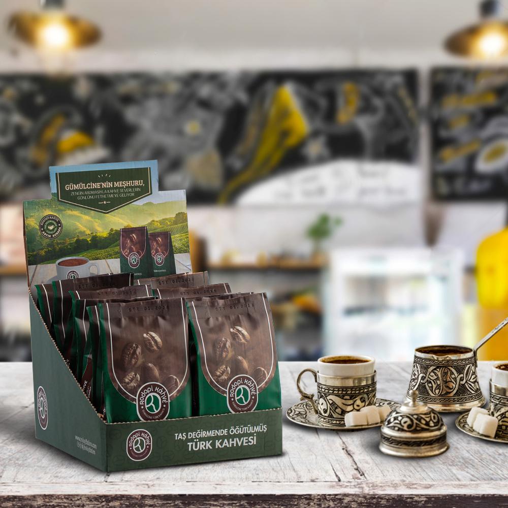 Rodopi Kahve Türk Kahvesi 12 x 100 G