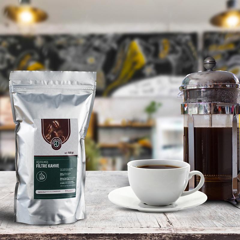 Rodopi Kahve - Rodopi Kahve Çekirdek Filtre Kahve 500 G