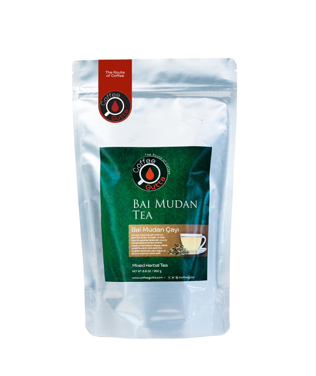 Coffee Gutta - Coffee Gutta Bai Mudan White Çay 250 G