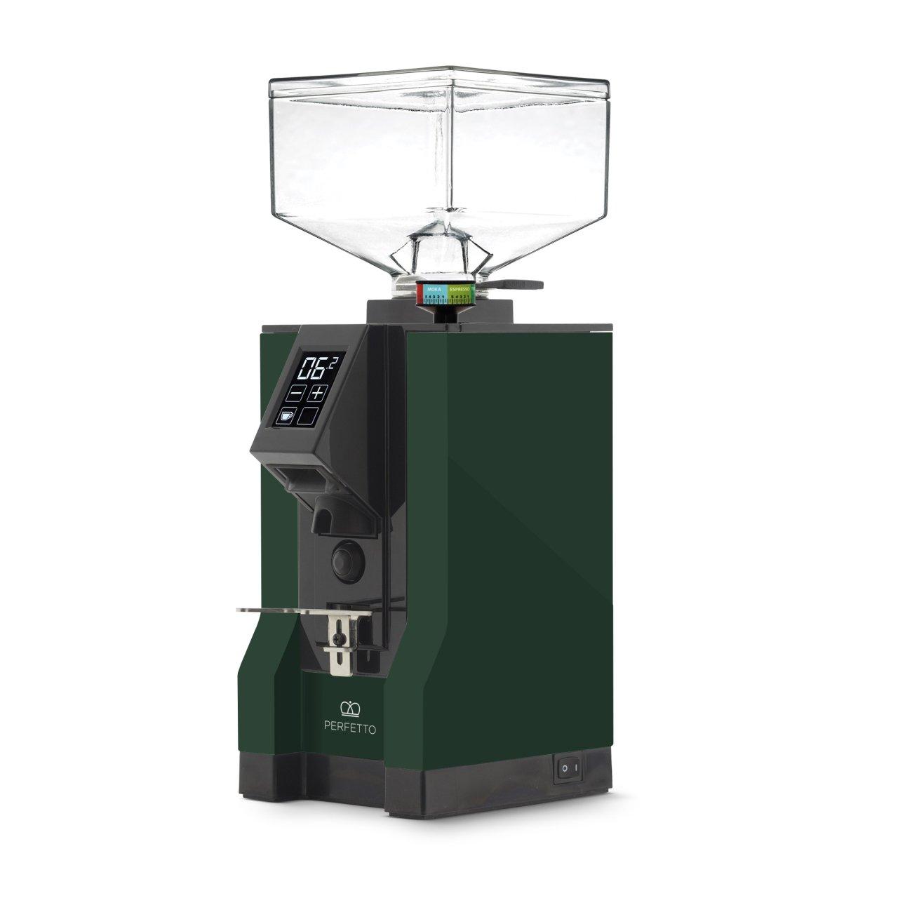 Eureka - Eureka Mignon Perfetto 15BL Kahve Öğütücü Gourmet Green
