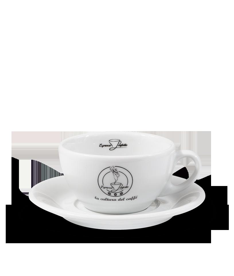 Porland - Porland Espresso Perfetto Logolu Cappuccino Fincanı