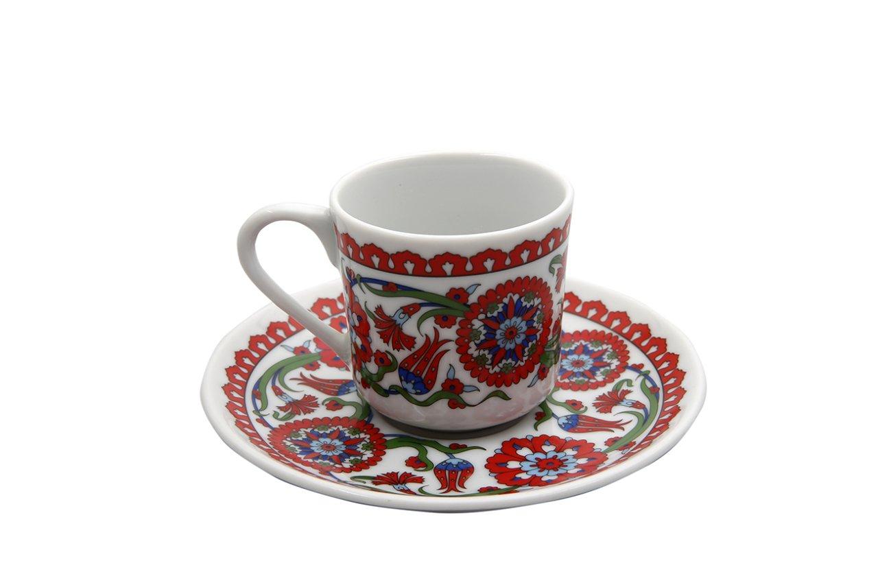 Coffee Gutta - Coffee Gutta Kırmızı Kahve Fincanı