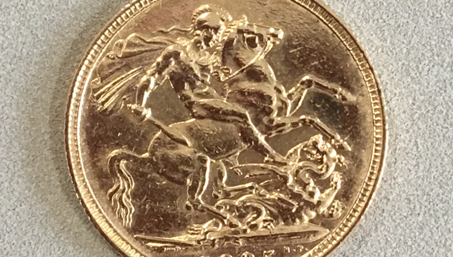 Bank of Ireland Gold Sovereign