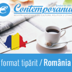 Abonament la revista Contemporanul in format tiparit pentru Romania