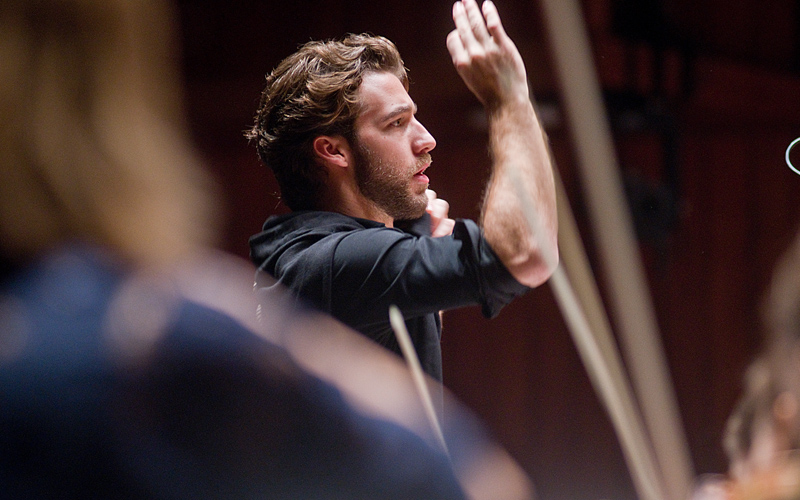 """The horizon of any conductor has to extend beyond music"""