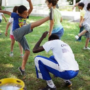 Mala Mágica – Oficina de Capoeira