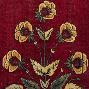 Os Tapetes com Decoração Floral da Índia Mogol