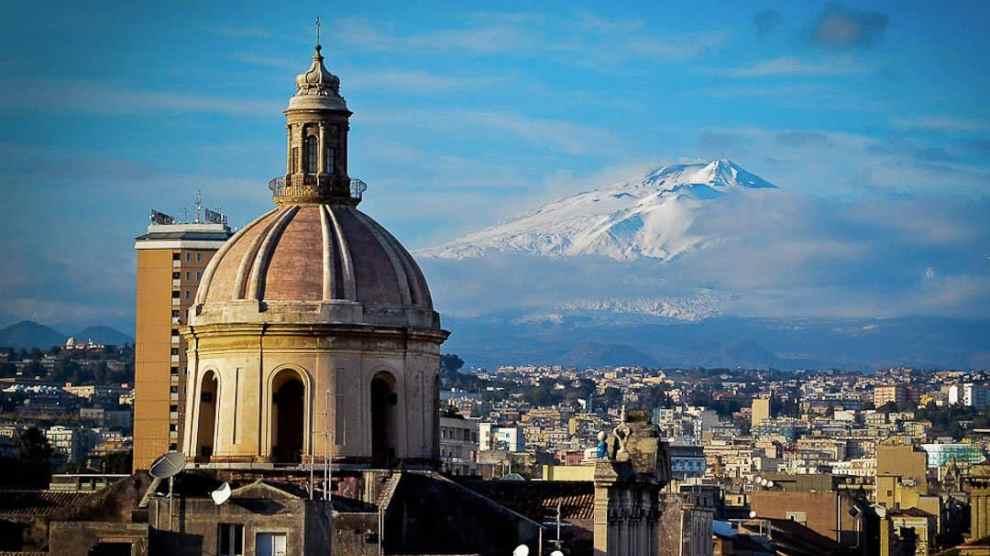 Catania-Etna-View