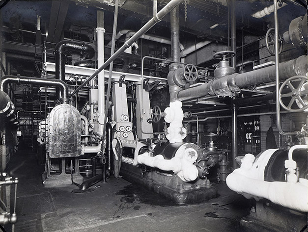Pontifex engine room