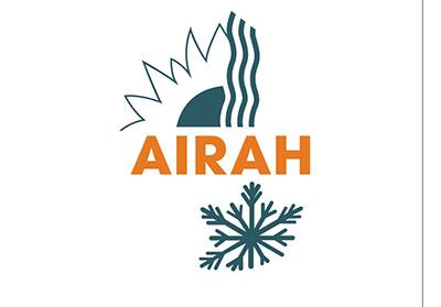 AIRAH logo orange-green
