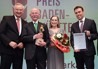 Photo of Bitzer owner honoured