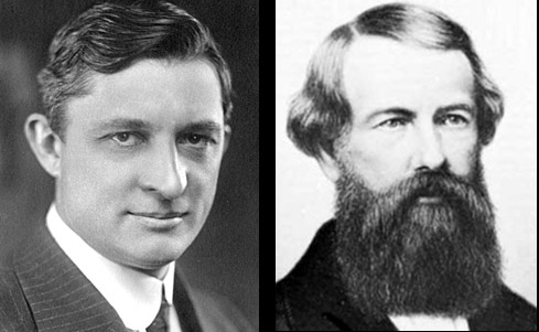 """Willis Carrier (left) """"the father of air conditioning"""" was related to lift pioneer Elisha Otis"""