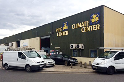 Climate Center Increases Stock Availability Cooling Post