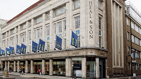 Image Result For Heals Building London Listed