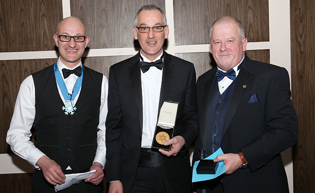 Ian-Tansley-J&E-Hall-gold-medal