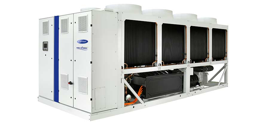 Carrier chiller exceeds ecodesign by 30%