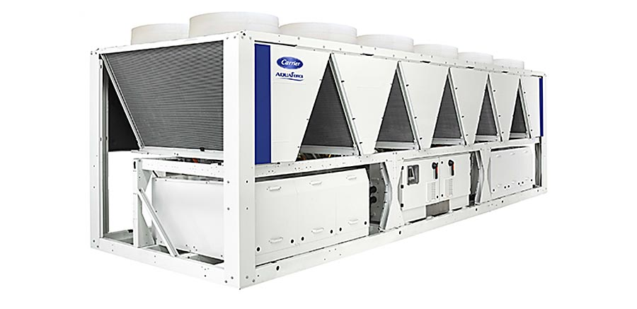 Carrier Launches New Aquaforce Chillers