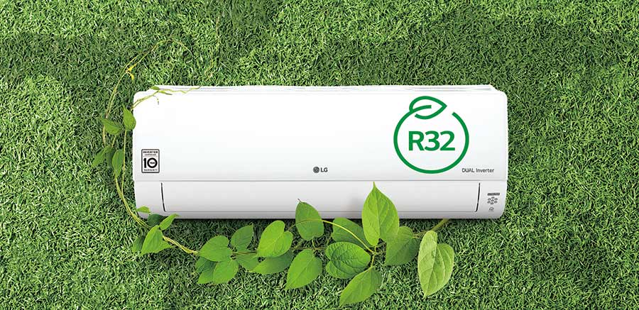 LG launches R32 single and multi splits