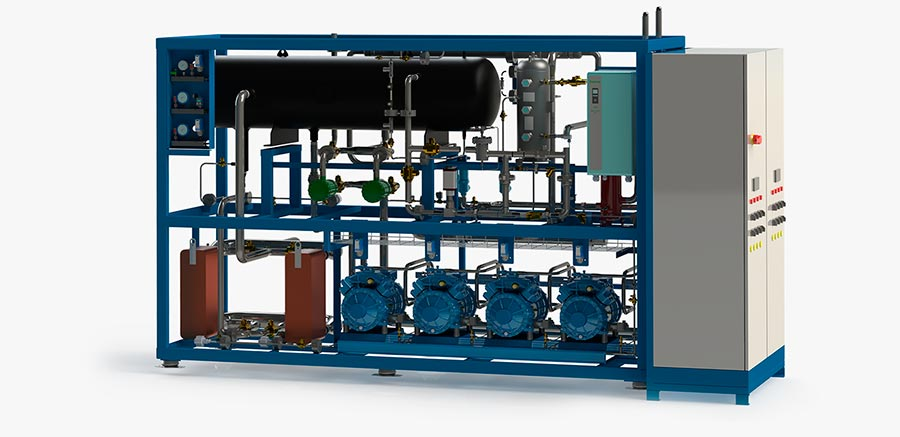 Standard range of packaged CO2 chillers