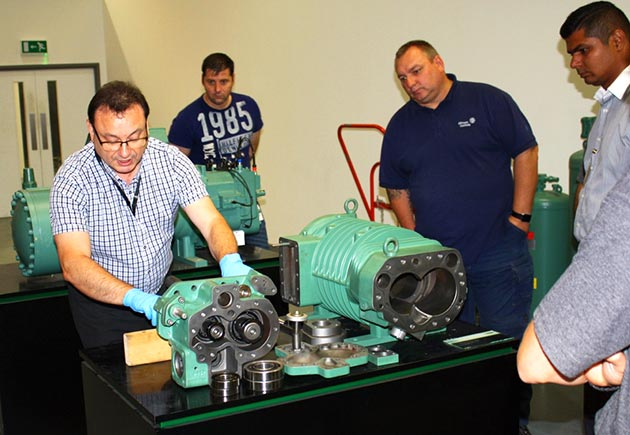 Photo of Bitzer's compressor technology courses