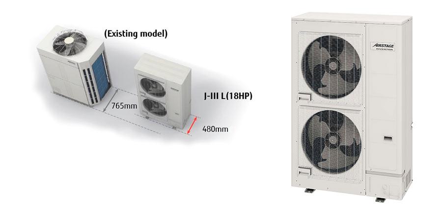 Fujitsu adds smallest 18hp unit