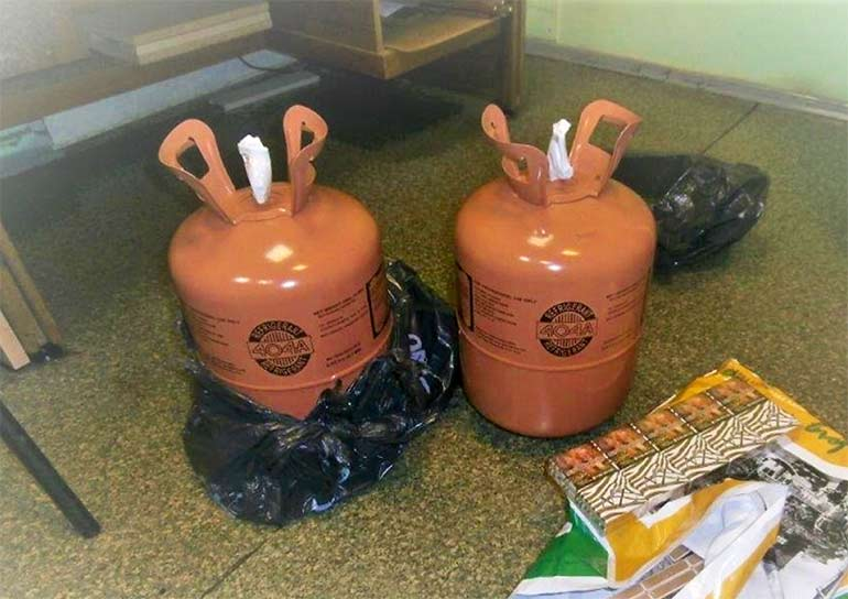 June sees 1,200 illegal refrigerant cylinders seized in Lithuania