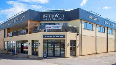 Photo of Bath & West pavilion is R32 showpiece