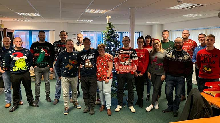 The Christmas jumper is cool - Cooling Post