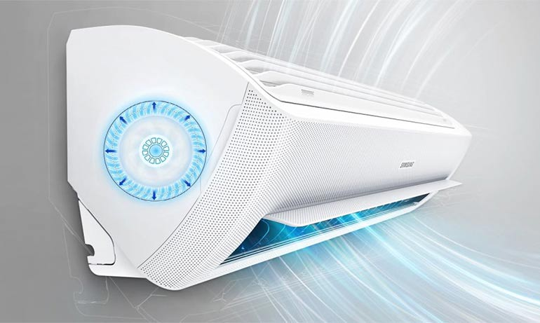 Samsung Wind Free air conditioner adopts AI technology ...
