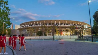 Photo of Chiller using R1224yd in Japan's new National Stadium
