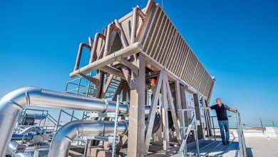 Photo of Thermosyphon cooler saves over 2,5000,000l of water in 6 months