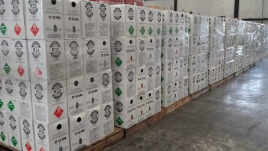 Photo of Customs seize 14 tonnes of illegal HFC in Rotterdam