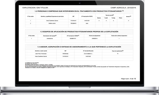 Cropti gestión agraria web y móvil