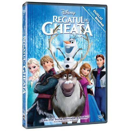 DVD Frozen - Regatul de gheata dublat in romana