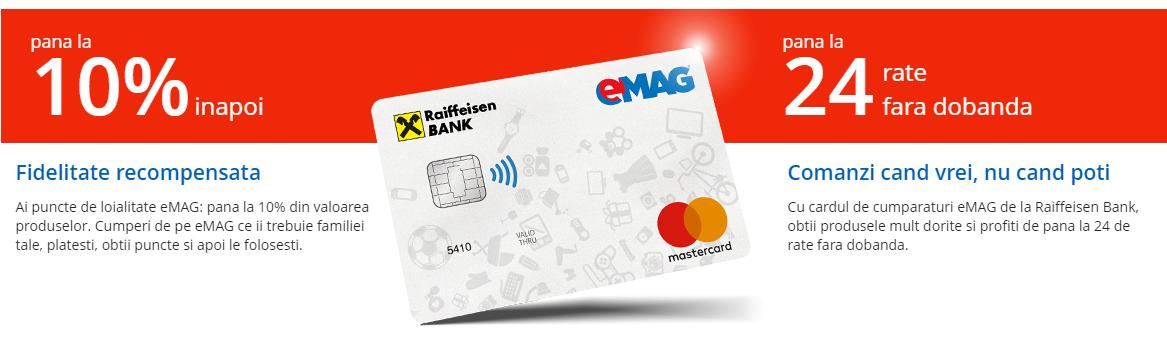 Cardul de cumparaturi eMAG