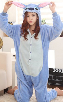 Pijama intreaga Kigurumi iepuras