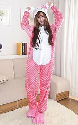 Pijama intreaga Kigurumi Hello Kitty