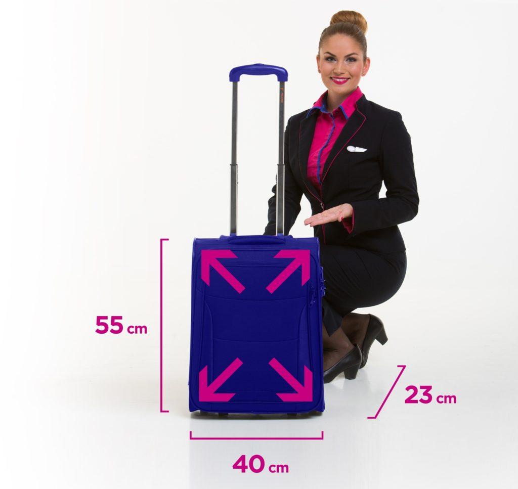 Bagaje de mana 55x40x23cm