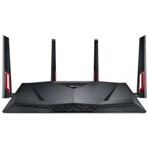 Router wireless ASUS RT-AC88U Black, Dual-Band AC3100 Gigabit, IEEE 802.11 a/b/g/n/ac
